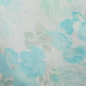 Палантин (Бирюзовый Цветочный) Donatella