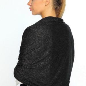 Палантин  черный для женщин (Черный цвет) Sophie Ramage