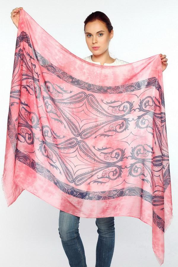 Палантин (Розовый Огурчики (пейсли) цвет) Sophie Ramage