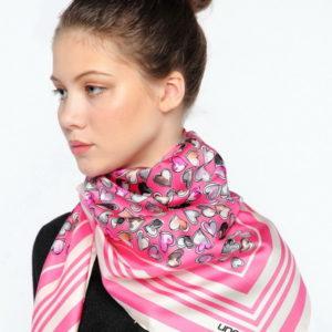 Палантин  (Розовый) Ungaro