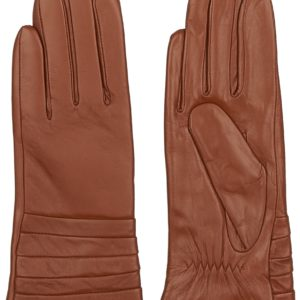 Перчатки кожаные (Бордовый цвет) Paccia, Италия
