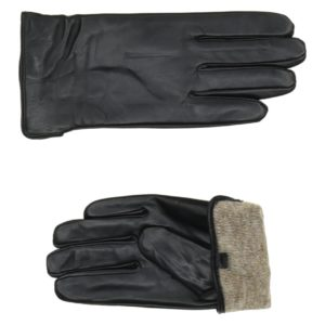 Перчатки кожаные (Черный цвет) Paccia, Италия