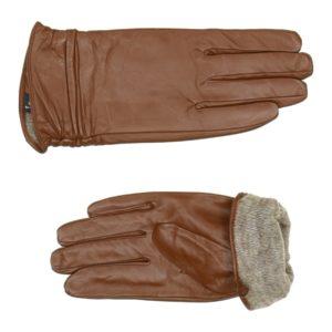 Перчатки кожаные (Коричневый цвет) Paccia, Италия
