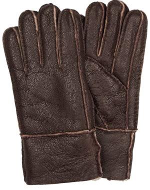 Перчатки мужские кожаные с манжетом Paccia Италия