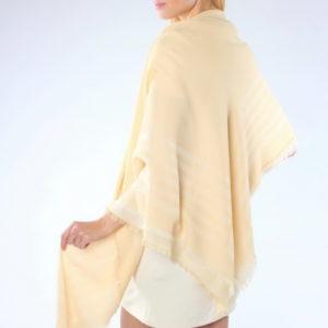 Платок женский (Бежевый Геометрический;Полоска) Givenchy