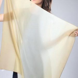 Женский платок (Бежевый Деграде) Donatella