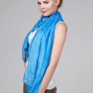 Женский платок (Бирюзовый) DGtx