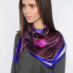 Женский платок (Фиолетовый цвет) Paccia