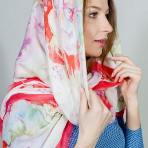 Платок женский (Красный) Laura Biagiotti