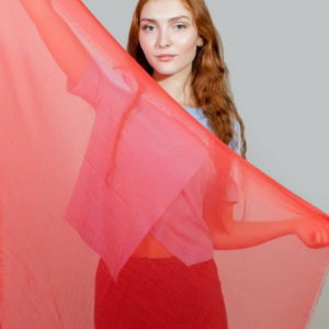 Платок женский (Оранжевый) Gianfranco Ferre