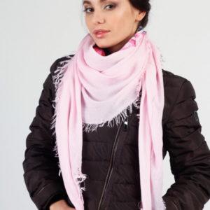 Женский платок (Розовый Цветочный) Laura Milano