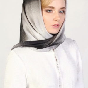 Женский платок (Серый Деграде цвет) Sophie Ramage