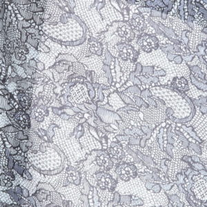 Платок женский (Серый Цветочный) Valentino