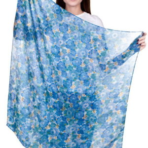 Женский платок (Синий цвет) Sophie Ramage