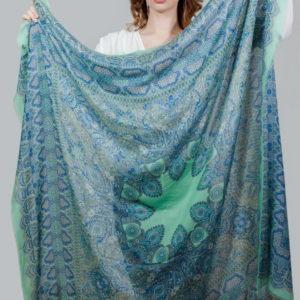 Платок женский (Зеленый) Marina D`Este