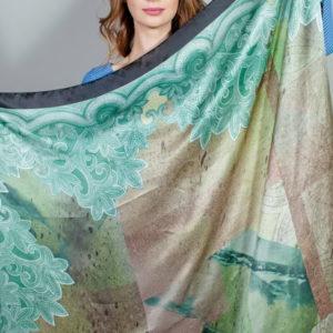 Платок женский (Зеленый) Laura Biagiotti