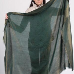 Платок женский (Зеленый Логотип) Tamary