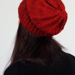 Шапка женская (Красный цвет) Sophie Ramage