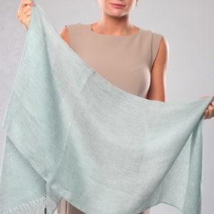 Шарф для женщин (Голубой) Gianfranco Ferre