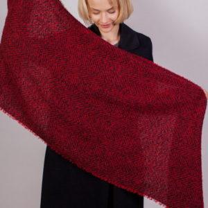 Шарф для женщин (Красный) Laura Milano