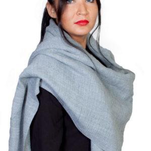Шарф для женщин (Серый) Fiona Fantozzi