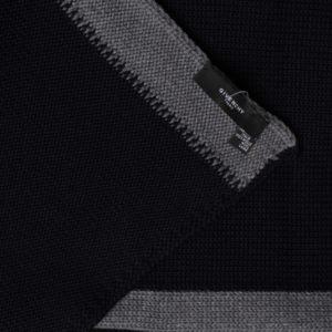 Шарф мужской (Серый Полоска) Givenchy