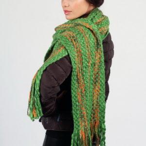 Шарф для женщин (Зеленый) Lancetti