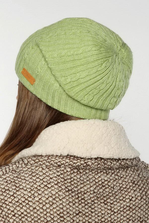 Вязаная шапка женская (Зеленый) Noryalli