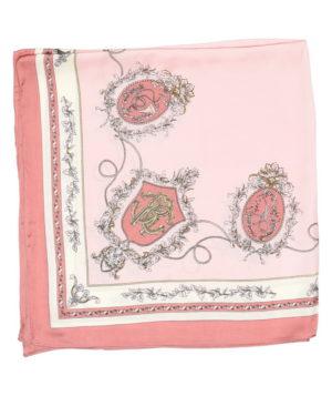 Шелковый платок полиэстер 55%|шелк 45%